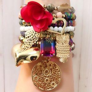 Iridescent Bracelet Set